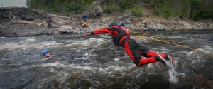 White Water Rescue Jump