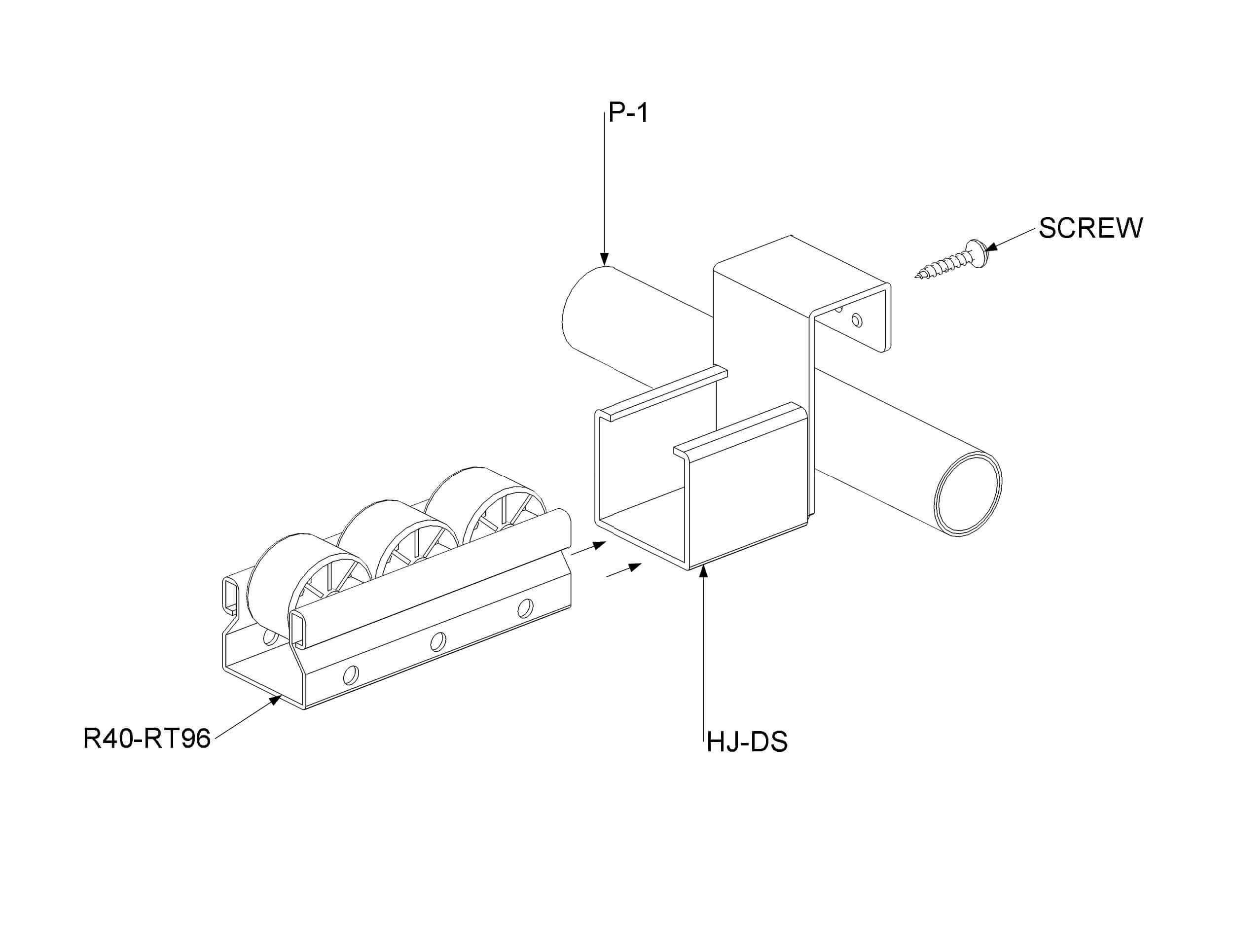 Metal Drop Stop Conveyor Mount For Conveyor Ending Point