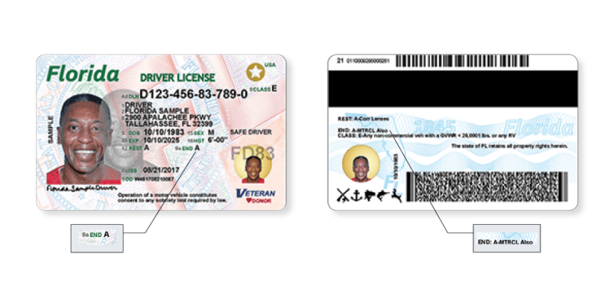 new driver license motorcycle endorsement