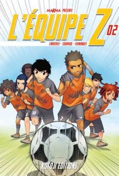 L'Équipe Z tome 2 - couverture (Dessin : Albert Carreres) - Flibusk