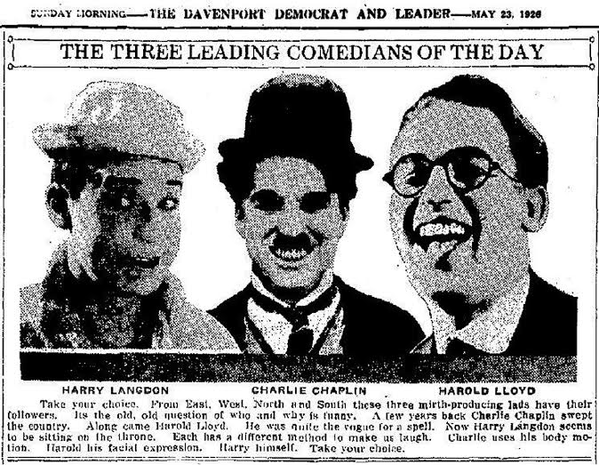 Image result for chaplin keaton langdon lloyd
