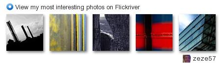 My Flickriver Badge