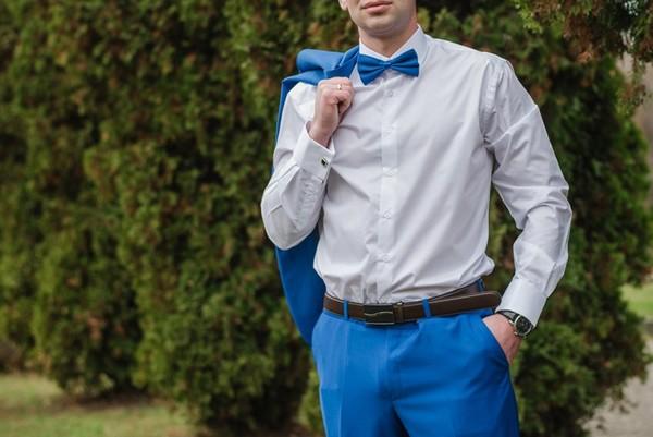 Hochzeitsanzug Modern Mit Weste Fliege Ivory Gunstig Online