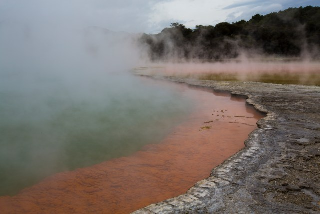 Geothermal Pools, New Zealand