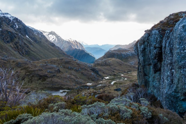 40km Trail Run, Routeburn Trek, New Zealand