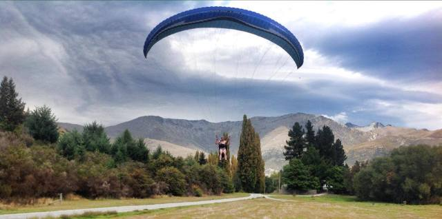 Paraglide Naked in New Zealand? Why Not