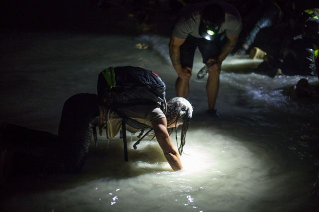 Jaala Pushing Through the Pain in GORUCK Selection