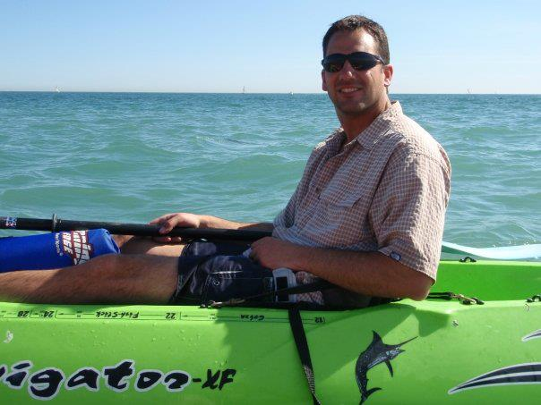 Ocean Kayaking, San Clemente, California