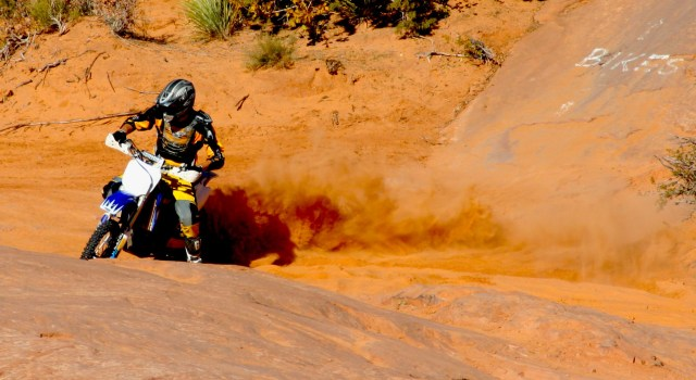 Dirtbiking in Utah