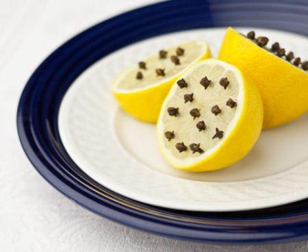 Lemon With Cloves