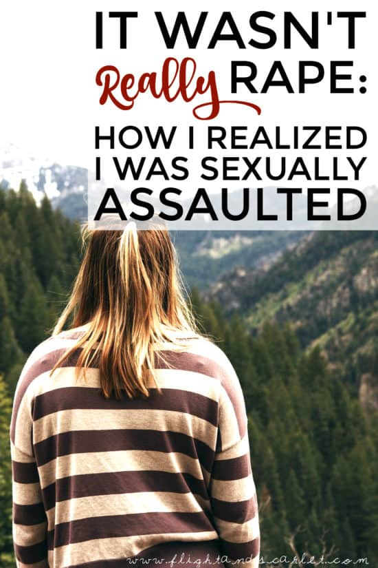 When I realized that it might have happened to me, I had one thought on my mind: It wasn't really rape... was it? Read what exactly went through my mind.