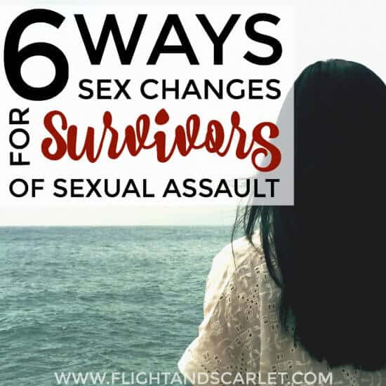 Wow. I know that sexual assault is a life-changing experience, but I never really thought about the lasting effects afterwards. This is is really eye-opening.