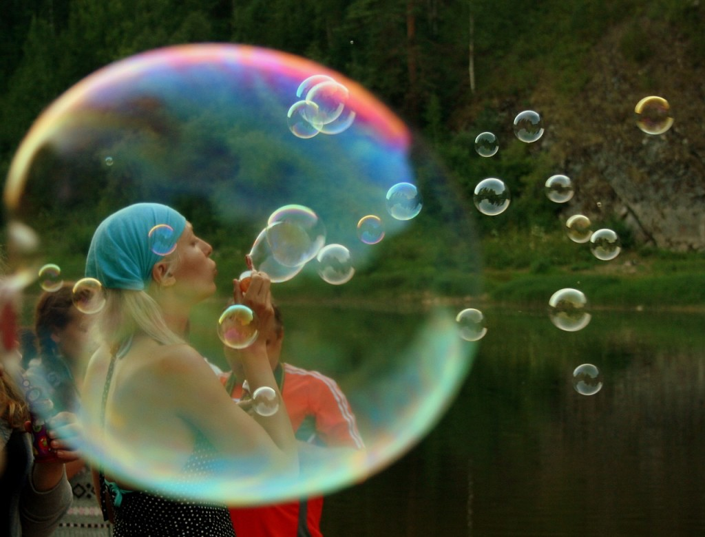 Living in a Bubble - Being Politically Correct | www.flightandscarlet.com