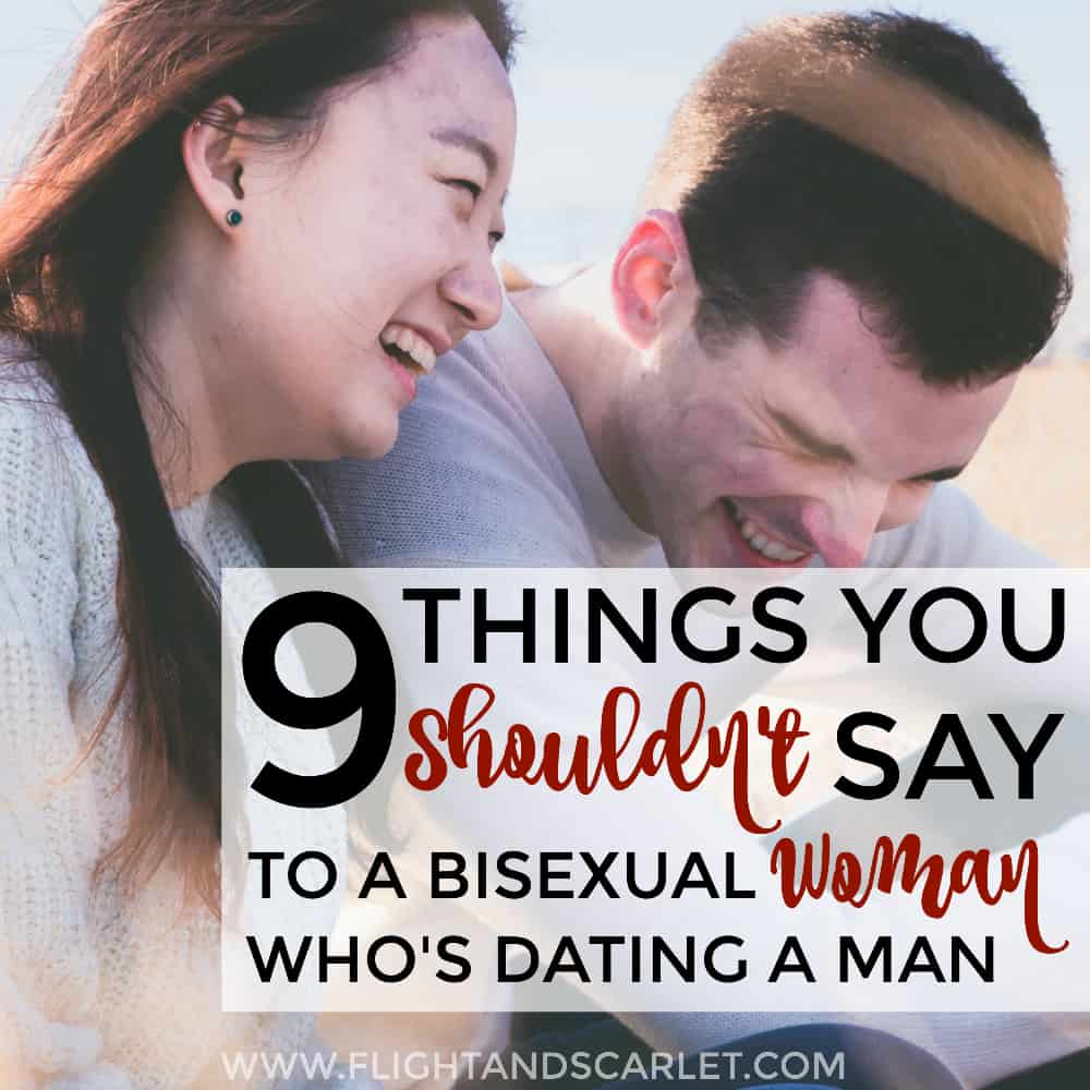 Not sure how to talk to bi women who are dating men? This post has some really good practical advice - 9 things you should NOT say to bisexual women! So glad I came across this... I've definitely said these before and had no idea they were rude!