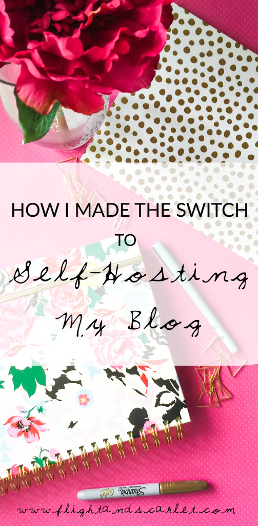 On December 18, 2015, I made the switch from the free WordPress.com to self-hosting my blog. Here's how I did it!