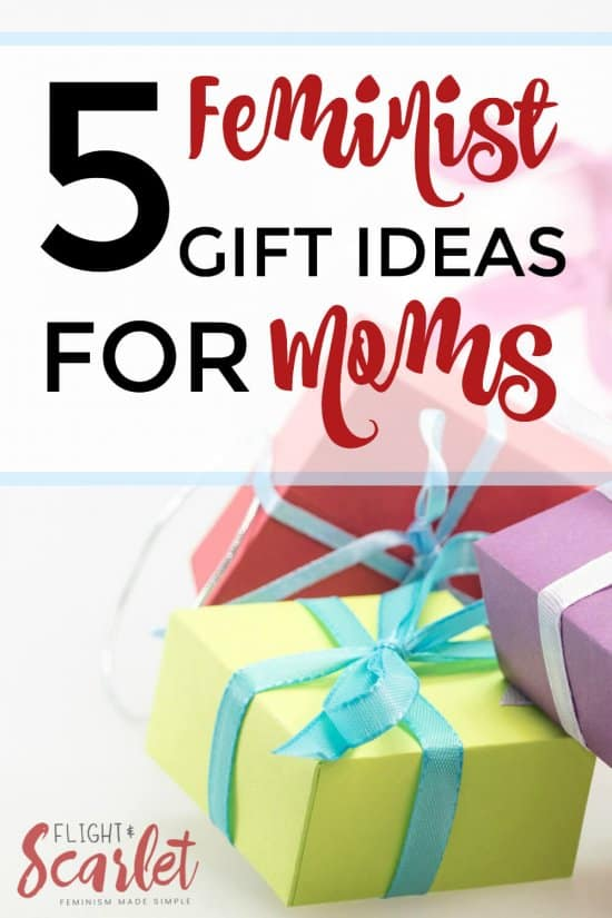 I LOVE these feminist gift ideas for moms! My mom is always hard to shop for, especially for mother's day and Christmas. This is perfect for my patriarchy-smashing mother!