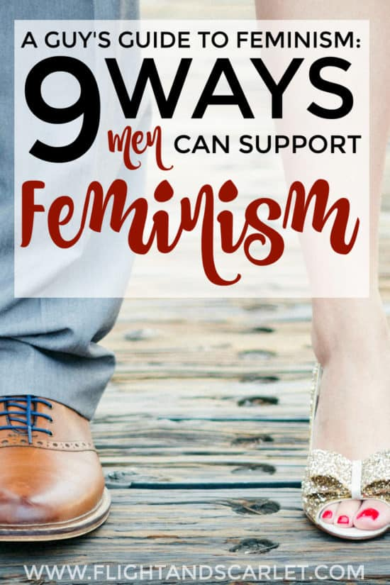 I always felt like I couldn't support feminism because I'm a man, but this is a great guide for how men can support feminism! There are so many different ways! Check it out!
