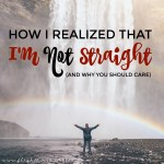 Wondering what it's like to figure out you're not straight? For anyone who's confused or just curious, here's my story :)