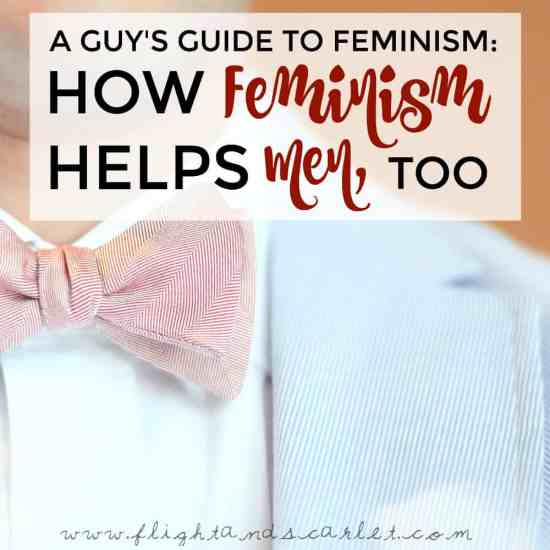 Feminism isn't just about women, and it hasn't been for a while now. Feminism helps men, too - in fact, it helps all genders.