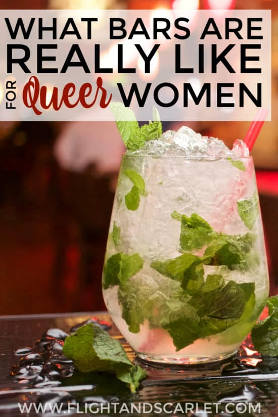 I had no idea what bars are really like for queer women, but after reading this, I have a pretty good idea! It's not as easy as it seems! Check it out!