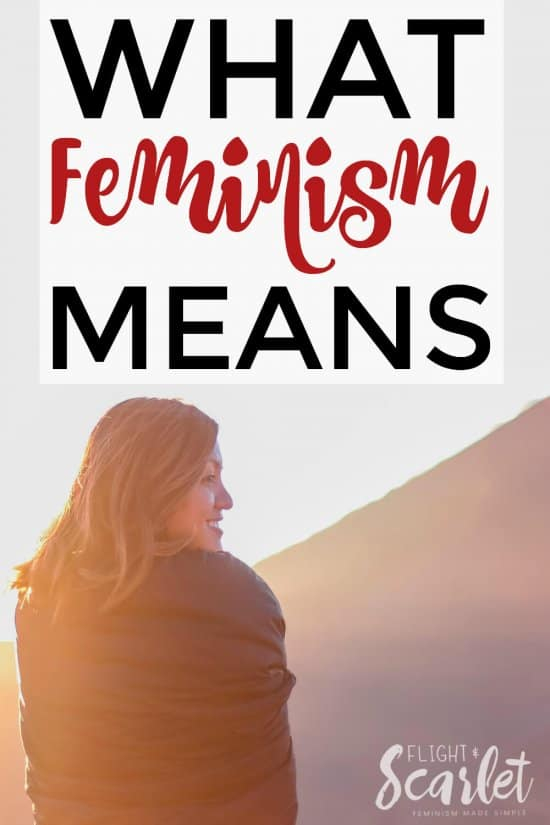 Wondering what feminism means? Check out this excellent explanation of what feminism is and why it's different for everyone! This is great for a feminist newbie like me, love it!