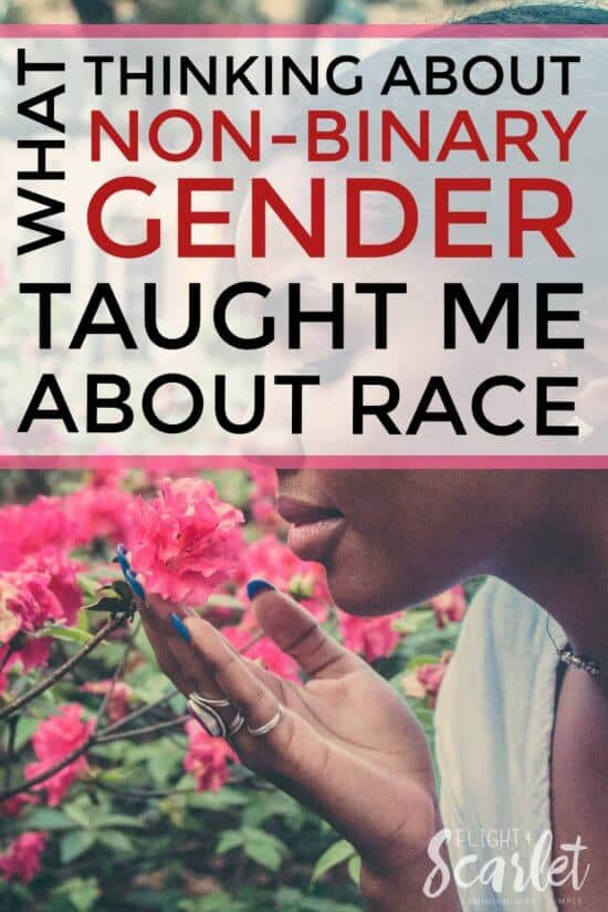 A great feminist post about non-binary gender and race! If you don't know what non-binary is, or had never heard of it until now, check it out! Such a good read for a feminist newbie like me!
