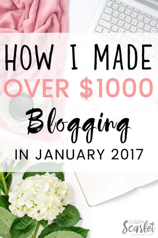 Curious about blogging? Check out how this woman made over $1000 blogging in January, including how Elite Blog Academy helped her! It's so cool to see how it's done, especially since she's only been blogging for one year!