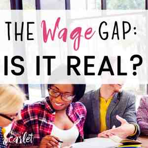 Love this overview of wage gap myths! If you're wondering about the fact that so many women go on maternity leave, read this post to learn about the reality of earnings and wages for women of any career!