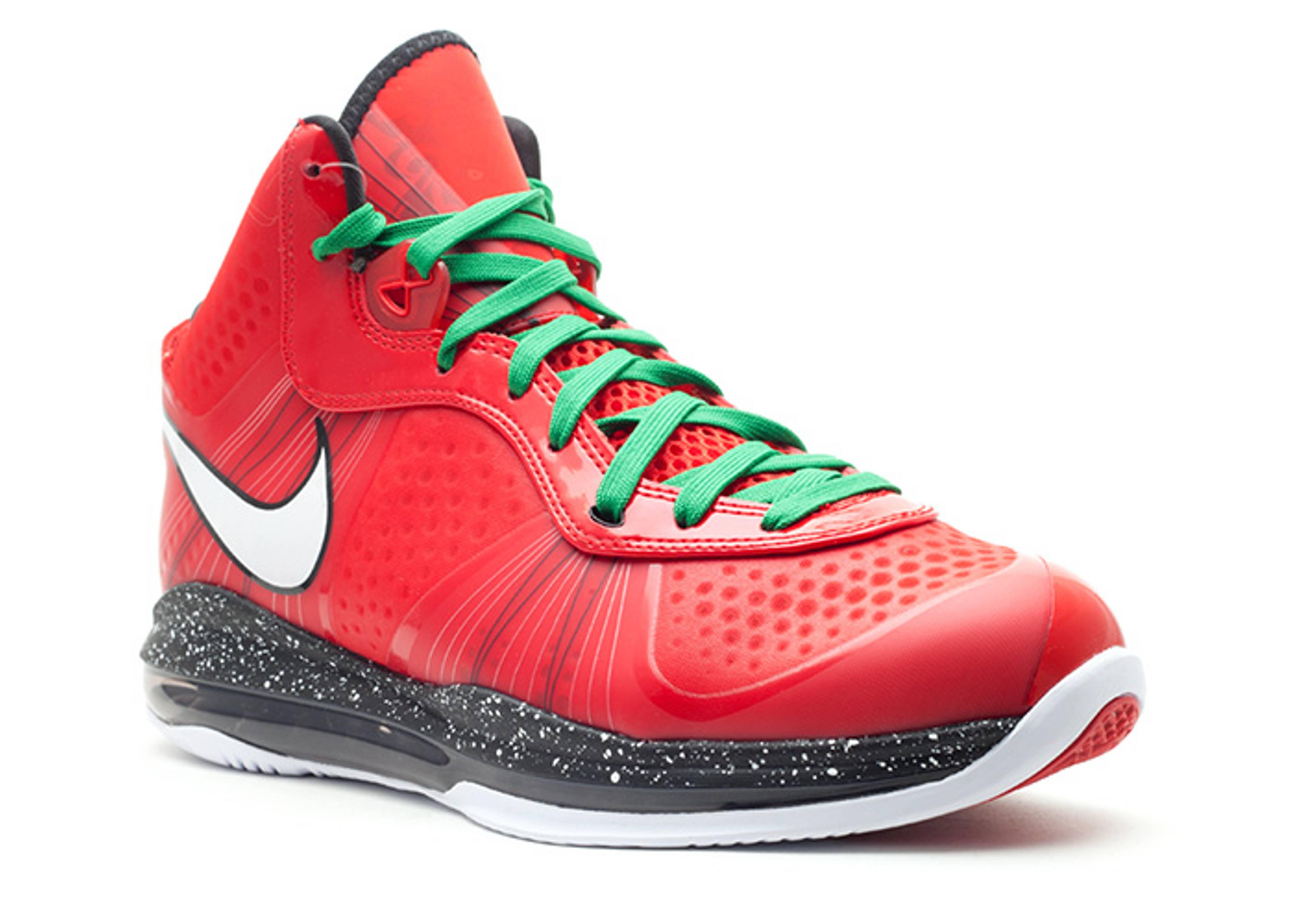 wholesale dealer 71f5b 620a8 lebron 10 christmas red shoe