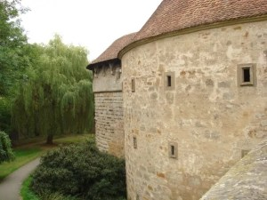Check out these medieval walls! Legit.