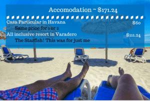 Cuba cost hotel casa particular all inclusive