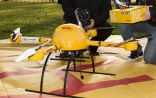 In December 2013, the German Deutsche Post AG tested a microdrones md4-1000 for delivery.