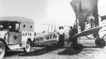 Early beginnings with the de Havilland DH-50A