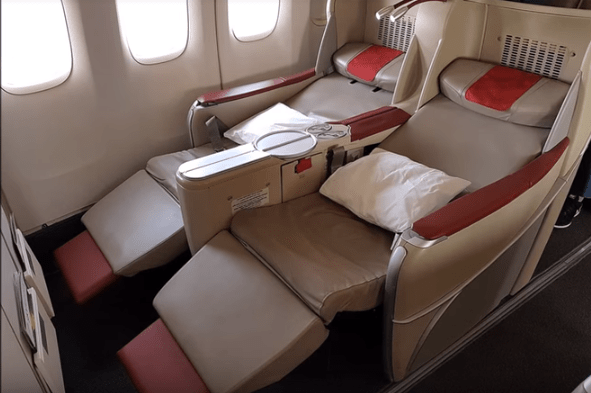 Royal Air Maroc Business Class flights to Lagos