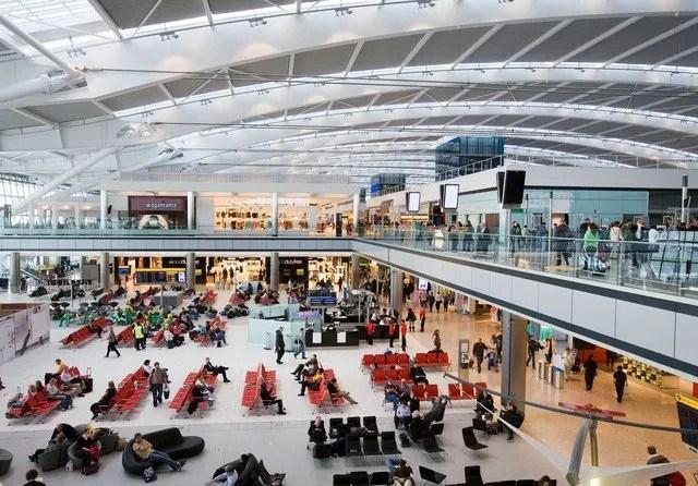 Flights from Lagos to London Heathrow LHR