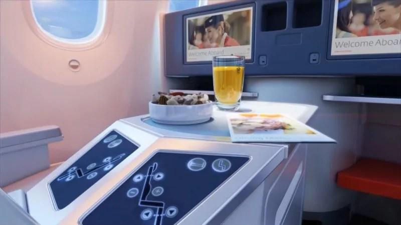 Royal Jordanian Online Booking Crown Class Seat Control