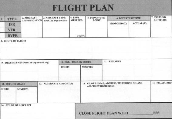 picture relating to Asa Flight Planner Printable referred to as Vfr Flight Method Template. stefan wordt piloot