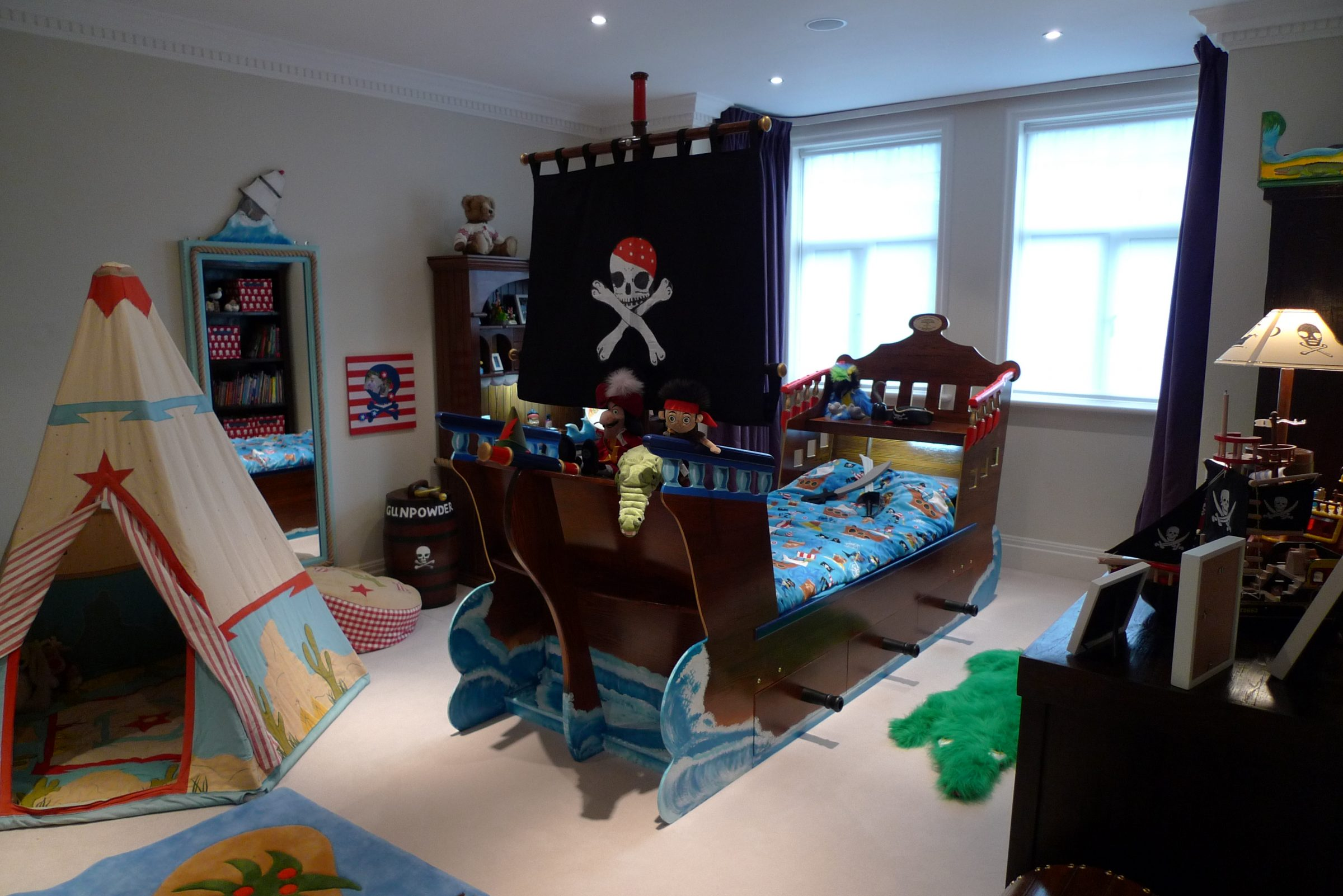Pirate Ship Beds Flights Of Fantasy