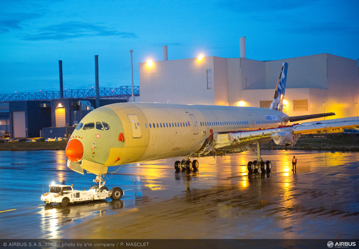 Airbus A350 XWB MSN1 Photo Main Assembly