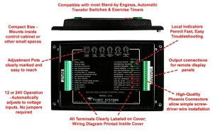NFPA110 Compliant Genset Replacement Control Panel | Flight Systems