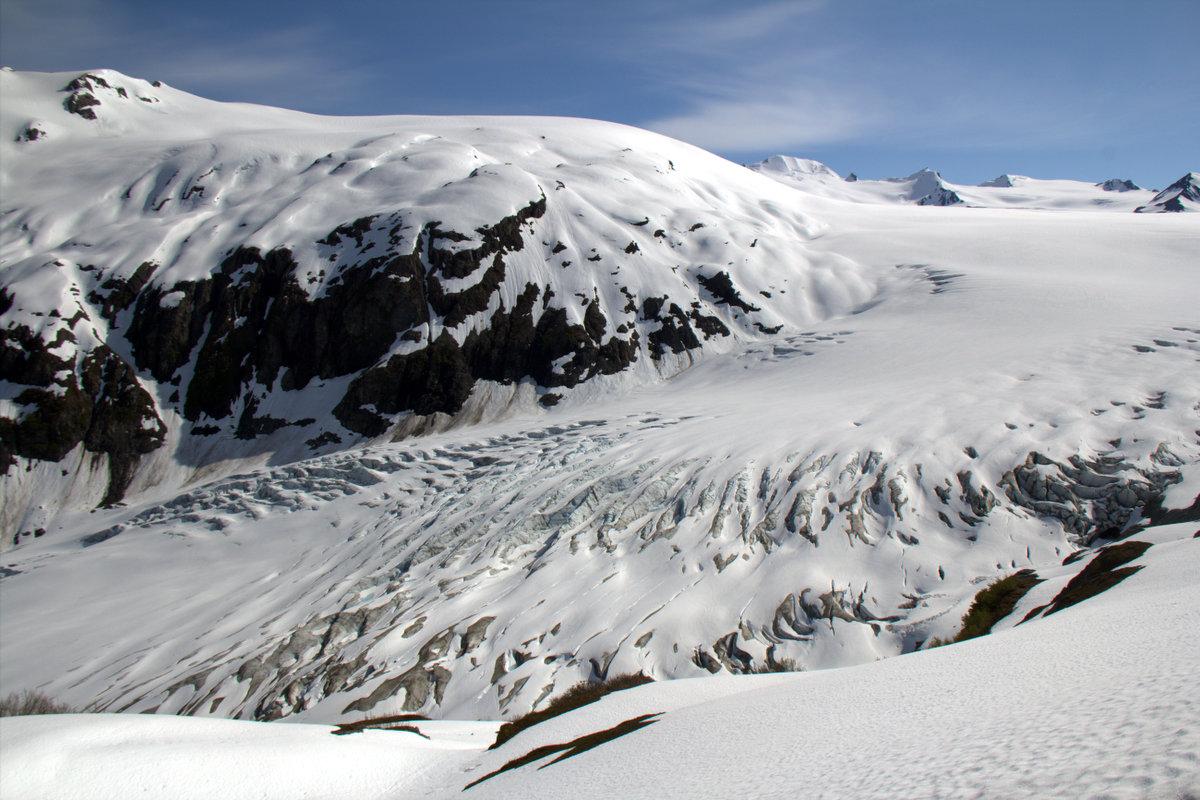 Involuntary Glacier Butt Sledding