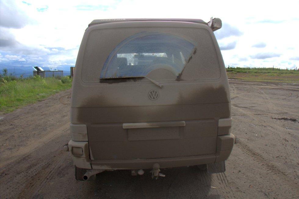 Very very dirty van