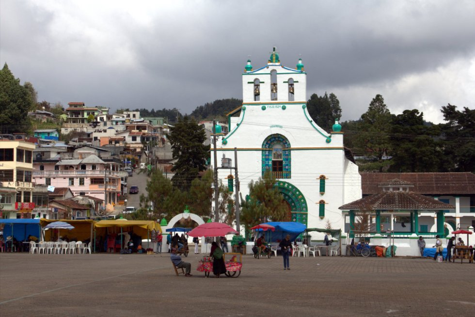 Chamula church