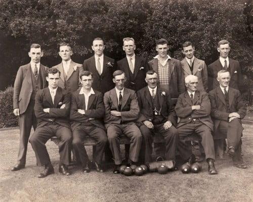 Sychdyn Bowling Club Circa 1939