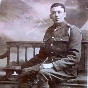 Family member Linda Millington believes that this is a photograph of Daniel James, her Great Grandfather. Many thanks for sharing this Linda.