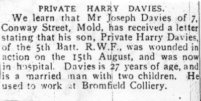 Mold Harry Davies 001 Herald 17 9 15