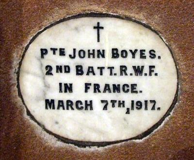 Holywell Boyes John 001