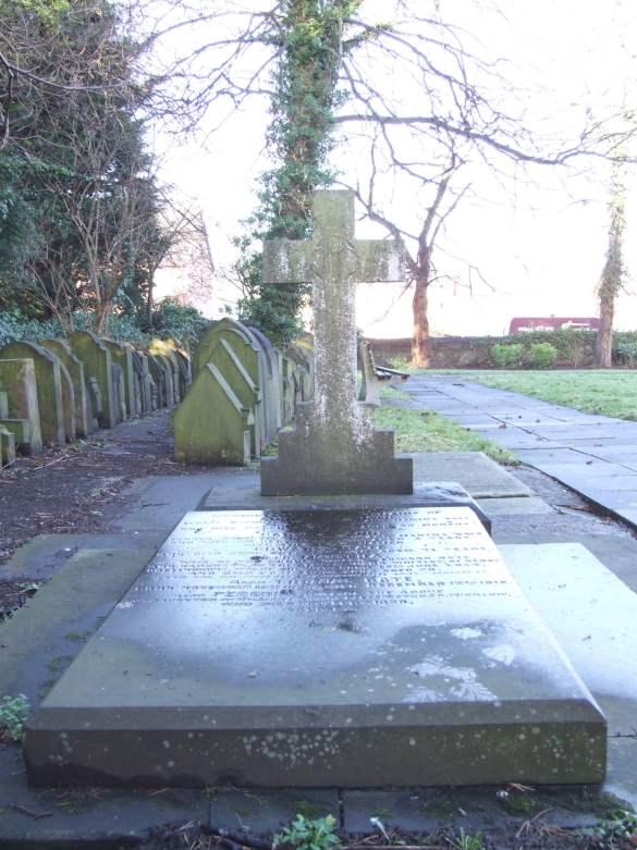 The Bate family vault in St Mark's Churchyard, Connah's Quay