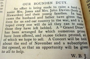 Hawarden Parish Magazine - JONES and DAVIES, John