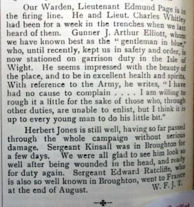 Hawarden Parish Magazine - PAGE, Edmund - Whitley, Charles